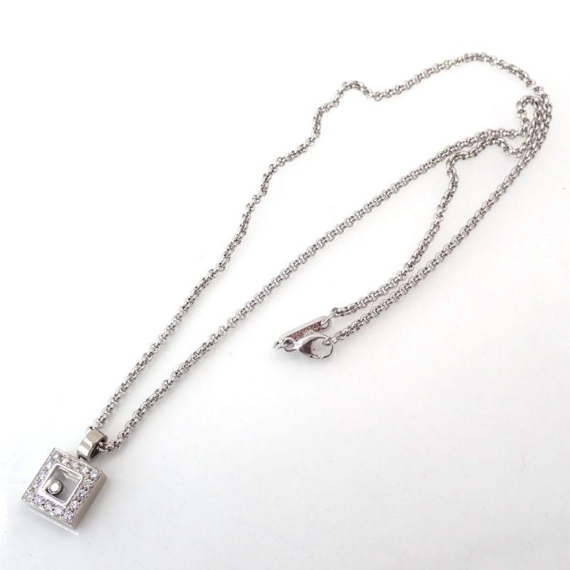 ハッピー ダイヤ ネックレス 79/2896-20 K18WG