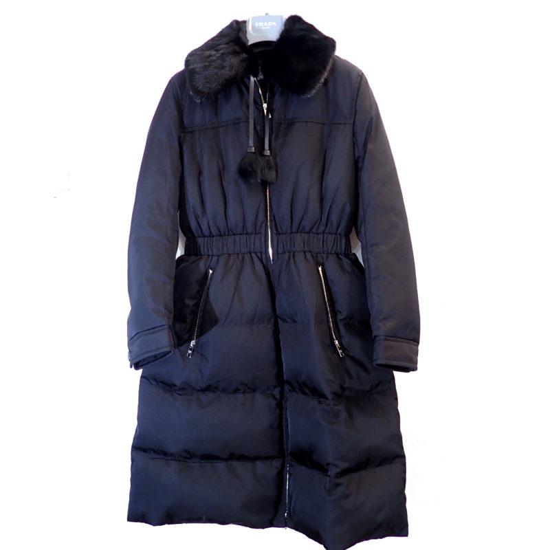 ロングダウンコート ミンク染ファー 2018、19年モデル 日本正規 未使用品